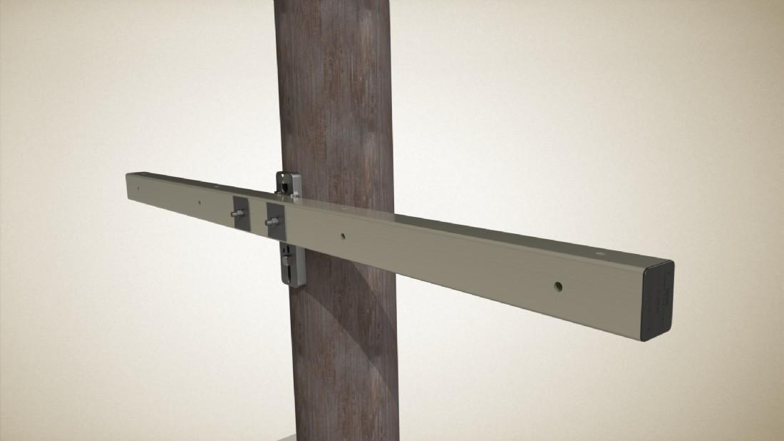 Cross Arm Py Series 9 6 Quot Dead End Utility Supplies High