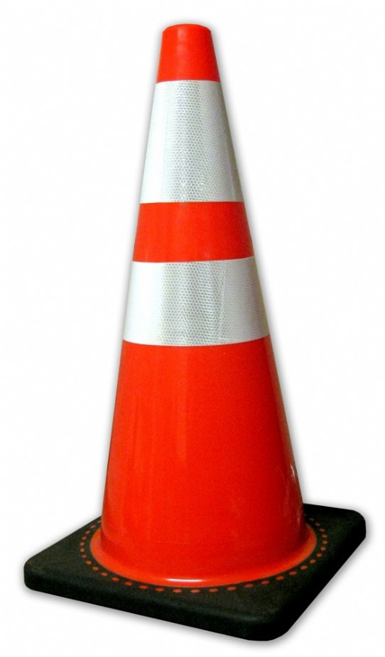 28 Quot Traffic Cone C W Reflective Collar Utility Supplies
