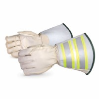 "5-Finger Lineman Glove c/w 6"" Cuff Water Repellent Size Small"