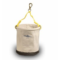 "Tool Bucket 12"" x 15"" c/w Leather Bottom & Swivel Snap"