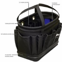 Black Cordura Tool Bucket