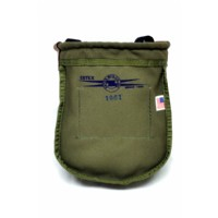 Green Canvas Nut & Bolt Bag