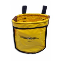Yellow Vinyl Fire Retardant Nut & Bolt Bag