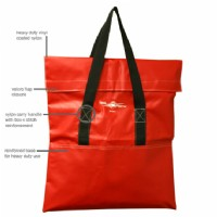 "Grounds Red Storage Bag  28.5""W x 28.5""H"