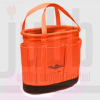Orange Cordura Tool Bucket