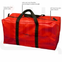 "Red Storage Bag  17.75""L x 9""W x 10""H"