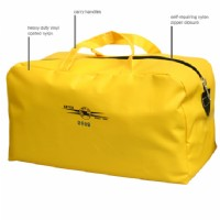 "Yellow Storage Bag 17.75""L x 9""W x 10""H"