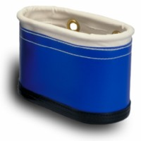 Aerial Tool Bucket 7 Pockets c/w Hard Body, Blue Vinyl Sides                              ..