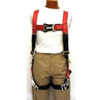 700AP Harness red and black nylon, and feature Jelco Fast Snaps, L/XL