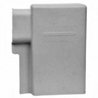 "Spade Cover Class 2 Type II, 3"" x 6"" x 10"", 1.25"" Lip Extension Grey"
