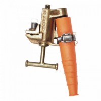 T-Handle Flat Face Bronze Clamp