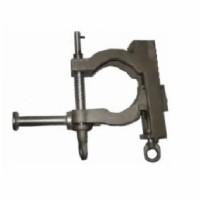 "4.5"" - 6.63"" Round/Flat Bus Bar Ground Clamp"